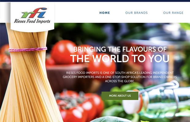 Wordpress Theme development and integration of RFI Foods
